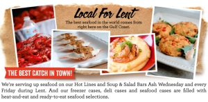 QSRs add new entrees to cater to customers practicing Lent.